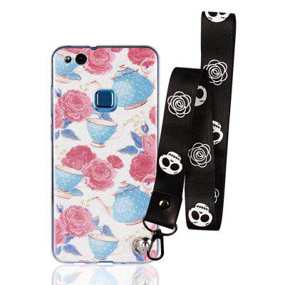 Cover Case for Huawei P10 Lite Bling-Bling Flash Powder Lanyard Soft TPU CaseChargers &amp; Cables<br>Cover Case for Huawei P10 Lite Bling-Bling Flash Powder Lanyard Soft TPU Case<br><br>Features: Back Cover<br>Material: TPU<br>Package Contents: 1 x Phone Case<br>Package size (L x W x H): 20.00 x 20.00 x 5.00 cm / 7.87 x 7.87 x 1.97 inches<br>Package weight: 0.0300 kg<br>Product weight: 0.0100 kg<br>Style: Pattern, Cute, Novelty, Cartoon