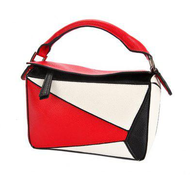Ladies Fashion Colourful Stitching Diamond HandbagHandbags<br>Ladies Fashion Colourful Stitching Diamond Handbag<br><br>Closure Type: Zipper<br>Embellishment: None<br>Exterior: None<br>Gender: For Women<br>Handbag Type: Totes<br>Lining Material: Cotton,Polyester<br>Main Material: PU<br>Number of Handles / Straps: Two<br>Package Contents: 1 x Handbag<br>Package size (L x W x H): 30.00 x 15.00 x 17.00 cm / 11.81 x 5.91 x 6.69 inches<br>Package weight: 0.6800 kg<br>Pattern Type: Patchwork<br>Product size (L x W x H): 30.00 x 15.00 x 17.00 cm / 11.81 x 5.91 x 6.69 inches<br>Product weight: 0.6800 kg<br>Shape: Casual Tote<br>Style: Fashion<br>Weight: 1.5300kg