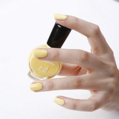 ZD SC6002 Peel Off Yellow Nail Polish 1PC