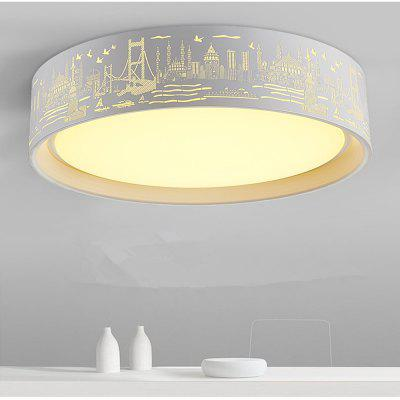 48 Watts of Creative Nordic LED Seaport Ceiling Light 52 CM