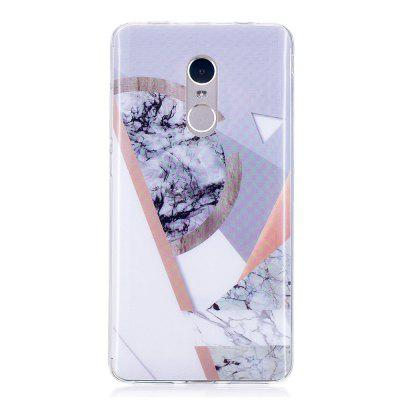 Joining Marble Style TPU Soft Cover Case for Xiaomi Redmi Note 4 / 4X