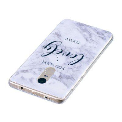 Lovely You Marble Style TPU Soft Cover Case for Xiaomi Redmi Note 4 / 4XCases &amp; Leather<br>Lovely You Marble Style TPU Soft Cover Case for Xiaomi Redmi Note 4 / 4X<br><br>Compatible Model: Xiaomi Redmi Note 4 / 4X<br>Features: Anti-knock<br>Mainly Compatible with: Xiaomi<br>Material: TPU<br>Package Contents: 1 x Phone Case<br>Package size (L x W x H): 16.00 x 7.50 x 1.00 cm / 6.3 x 2.95 x 0.39 inches<br>Package weight: 0.0180 kg<br>Style: Pattern