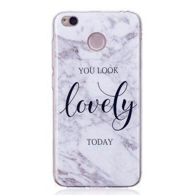 Lovely You Marble Style TPU Soft Cover Case for Xiaomi Redmi 4X