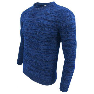 MenS Spring and Autumn Long-Sleeved Knit Round Neck Fashion Casual Base SweaterMens Sweaters &amp; Cardigans<br>MenS Spring and Autumn Long-Sleeved Knit Round Neck Fashion Casual Base Sweater<br><br>Collar: Round Collar<br>Hooded: No<br>Material: Acrylic<br>Package Contents: 1XMens sweater<br>Package size (L x W x H): 1.00 x 1.00 x 1.00 cm / 0.39 x 0.39 x 0.39 inches<br>Package weight: 0.3000 kg<br>Size1: M,L,XL,2XL,3XL<br>Sleeve Length: Full<br>Style: Fashion<br>Technics: Computer Knitted<br>Thickness: Standard<br>Type: Pullovers