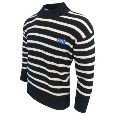 MenS Spring and Autumn Round Neck Fashion Casual Stripe Primer Long Sleeve PulloverMens Sweaters &amp; Cardigans<br>MenS Spring and Autumn Round Neck Fashion Casual Stripe Primer Long Sleeve Pullover<br><br>Collar: Round Collar<br>Hooded: No<br>Material: Acrylic<br>Package Contents: 1XMens sweater<br>Package size (L x W x H): 1.00 x 1.00 x 1.00 cm / 0.39 x 0.39 x 0.39 inches<br>Package weight: 0.3000 kg<br>Size1: M,L,XL,2XL,3XL<br>Sleeve Length: Full<br>Sleeve Style: Regular<br>Style: Casual<br>Type: Pullovers