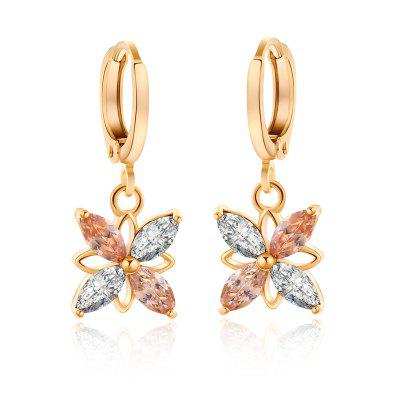 Fashion  Petal Zircon Earrings ER0560