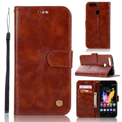 newest collection 1c4f1 5857e Luxurious Vintage Fashion Flip Leather Case PU Wallet Cover Cases For  Huawei Honor 8 Pro Smart Cover Phone Bag with Stand