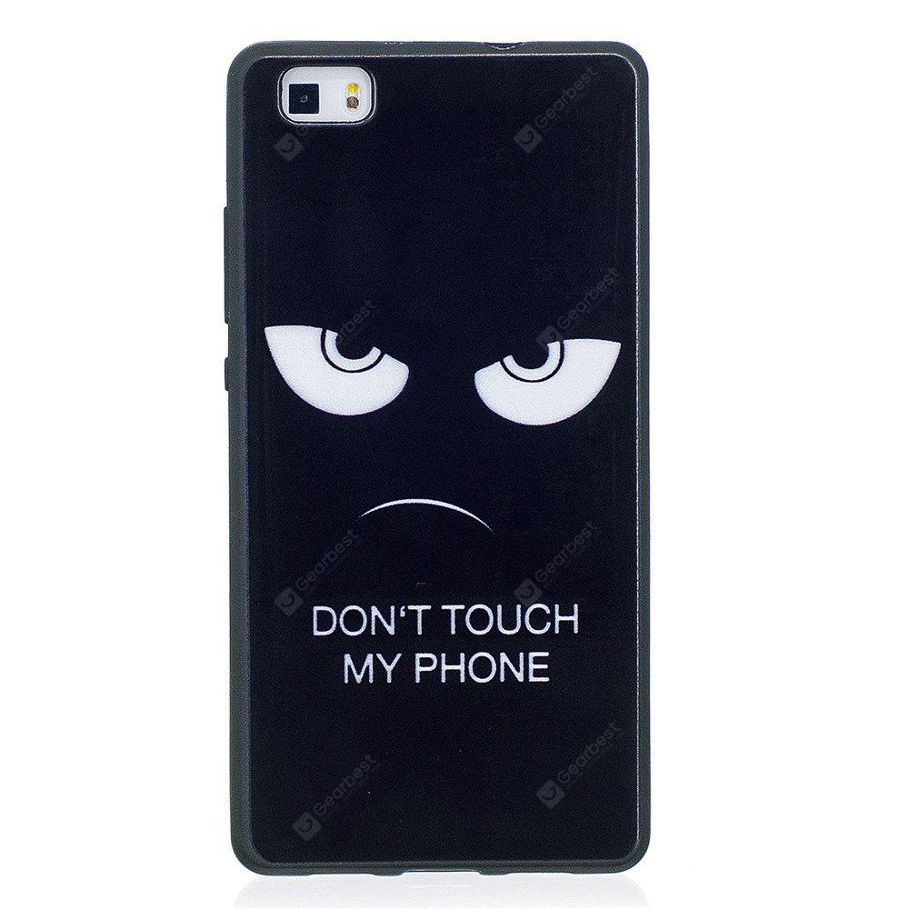 Phone Case for Huawei P8 Lite Eyes Fashion Cartoon Relief Soft Silicone TPU Cover Cases Protection Phone Bag