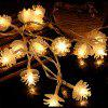 BRELONG LED Pine Cone Light String Decorative Romantic Lights 20LED-USB interface - WARM WHITE