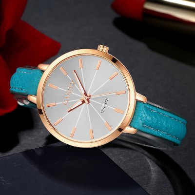 GAIETY G322 Women Fashion Leather WatchWomens Watches<br>GAIETY G322 Women Fashion Leather Watch<br><br>Band material: PU<br>Band size: 21.5 x 1 CM<br>Case material: Metal<br>Clasp type: Pin buckle<br>Dial size: 3.5 x 3.5 x 0.7 CM<br>Display type: Analog<br>Movement type: Quartz watch<br>Package Contents: 1 x Watch<br>Package size (L x W x H): 25.00 x 4.50 x 1.00 cm / 9.84 x 1.77 x 0.39 inches<br>Package weight: 0.0300 kg<br>Product size (L x W x H): 21.50 x 3.50 x 0.70 cm / 8.46 x 1.38 x 0.28 inches<br>Product weight: 0.0240 kg<br>Shape of the dial: Round<br>Watch mirror: Mineral glass<br>Watch style: Classic, Childlike, Fashion, Casual<br>Watches categories: Women,Female table<br>Water resistance: No