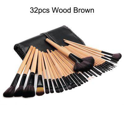 The miss 24-32 Pcs Makeup Brushes Cosmetic Tool Foundation Eyeshadow Powder Make Up Brush Set +Bag pincel maquiagem -H439SCXMakeup Brushes &amp; Tools<br>The miss 24-32 Pcs Makeup Brushes Cosmetic Tool Foundation Eyeshadow Powder Make Up Brush Set +Bag pincel maquiagem -H439SCX<br><br>Brush Material: Synthetic Hair<br>Category: Foundation Brush<br>For: Eye, Lip<br>Handle Material: Wood<br>Package Contents: 1 x Makeup Set<br>Package Size(L x W x H): 1.00 x 1.00 x 1.00 cm / 0.39 x 0.39 x 0.39 inches<br>Package weight: 0.2800 kg<br>Quantity range (pcs): 21-30,31-40<br>Type: Brush set
