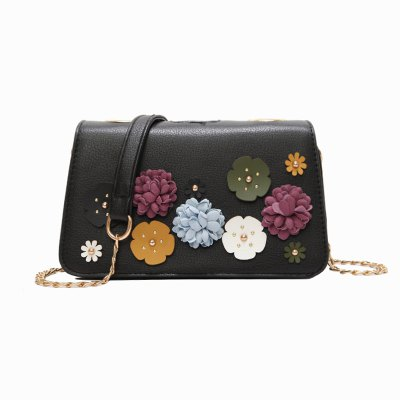 Small Fresh Flowers Wild Fashion Shoulder Messenger Bag