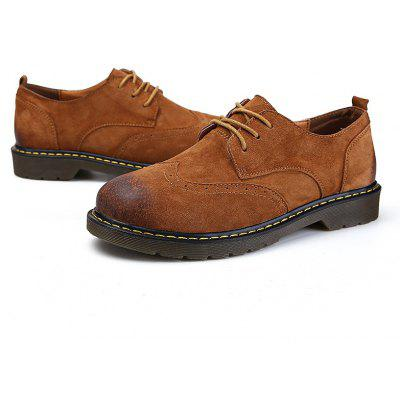 Hot Newest Autumn Winter Soft Bottom Fashion Bullock Oxfords Shoes for Men Comfortable Leather FootwearCasual Shoes<br>Hot Newest Autumn Winter Soft Bottom Fashion Bullock Oxfords Shoes for Men Comfortable Leather Footwear<br><br>Available Size: 39,40,41,42,43,44<br>Closure Type: Lace-Up<br>Embellishment: Hollow Out<br>Gender: For Men<br>Outsole Material: TPR<br>Package Contents: 1 x Shoes(pair)<br>Pattern Type: Solid<br>Season: Summer, Winter, Spring/Fall<br>Toe Shape: Round Toe<br>Toe Style: Closed Toe<br>Upper Material: Flock<br>Weight: 1.6400kg