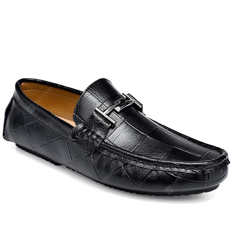 Business Flat Casual Driving Genuine Leather Moccasins