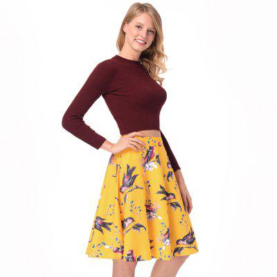 Summer WomenS New Vintage Retro Print SkirtSkirts<br>Summer WomenS New Vintage Retro Print Skirt<br><br>Elasticity: Nonelastic<br>Fabric Type: Broadcloth<br>Length: Knee-Length<br>Material: Polyester<br>Package Contents: 1xskirts<br>Package weight: 0.2000 kg<br>Pattern Type: Print<br>Silhouette: A-Line