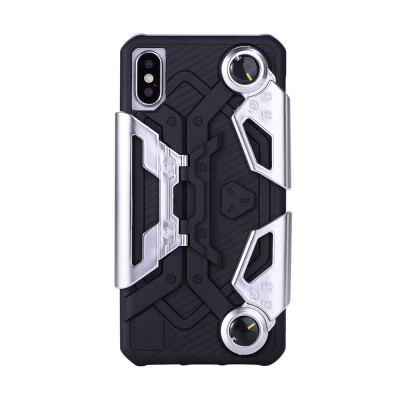 for iPhone X Back Protective Cover Case Shockproof with Kickstand