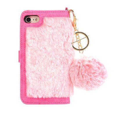 for Iphone 7 Rabbit Hair Soft TPU Phone Case with Hair Buld DecorativeiPhone Cases/Covers<br>for Iphone 7 Rabbit Hair Soft TPU Phone Case with Hair Buld Decorative<br><br>Compatible for Apple: iPhone 7<br>Features: FullBody Cases<br>Material: PU, TPU<br>Package Contents: 1 x Phone Case<br>Package size (L x W x H): 22.00 x 14.00 x 3.00 cm / 8.66 x 5.51 x 1.18 inches<br>Package weight: 0.1600 kg<br>Style: Cute
