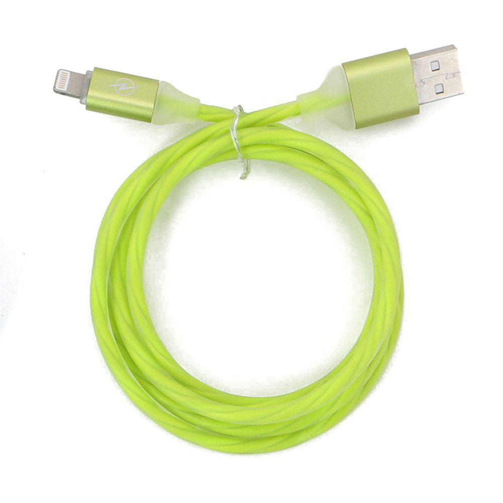 1M Jelly Sparkling Charger Cable for 8 Pin