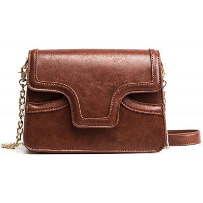 Female Retro Wild Organ Shoulder Bag