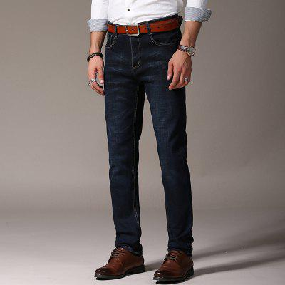 Men Straight Fit Stretch Denim Pants Large Size Man JeansPlus Size Bottoms<br>Men Straight Fit Stretch Denim Pants Large Size Man Jeans<br><br>Closure Type: Zipper Fly<br>Fabric Type: Canvas<br>Fit Type: Straight<br>Front Style: Flat<br>Material: Cotton<br>Package Contents: 1xJeans<br>Pant Length: Long Pants<br>Pant Style: Straight<br>Style: Casual<br>Waist Type: Mid<br>Weight: 0.5000kg