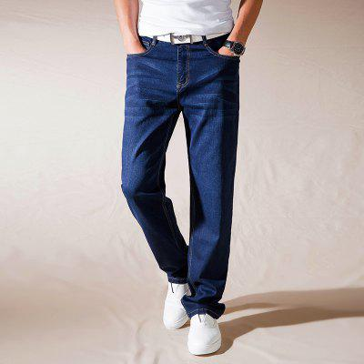 Men Loose Fit Stretch Denim Pants Large Size JeansPlus Size Bottoms<br>Men Loose Fit Stretch Denim Pants Large Size Jeans<br><br>Closure Type: Zipper Fly<br>Fabric Type: Canvas<br>Fit Type: Loose<br>Front Style: Flat<br>Material: Cotton<br>Package Contents: 1xJeans<br>Pant Length: Long Pants<br>Pant Style: Wide Leg Pants<br>Style: Casual<br>Waist Type: Mid<br>Weight: 0.5000kg
