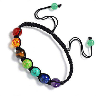Chakra Healing Balance Beads Bracelet Yoga Life Energy Bracelet Lovers Casual Jewelry 1PC