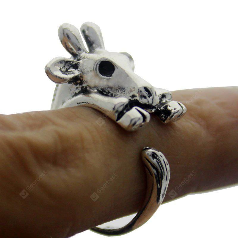 cute Deer open ring female models jewelry