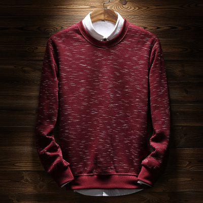 Plus Velvet Padded Spray Printing SweatshirtMens Hoodies &amp; Sweatshirts<br>Plus Velvet Padded Spray Printing Sweatshirt<br><br>Material: Polyester, Spandex<br>Package Contents: 1 x Sweatshirt<br>Shirt Length: Regular<br>Sleeve Length: Full<br>Style: Casual<br>Weight: 0.5000kg