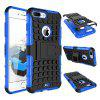 For iPhone 8 Plus Phone Shell Tires Phone Case - BLUE