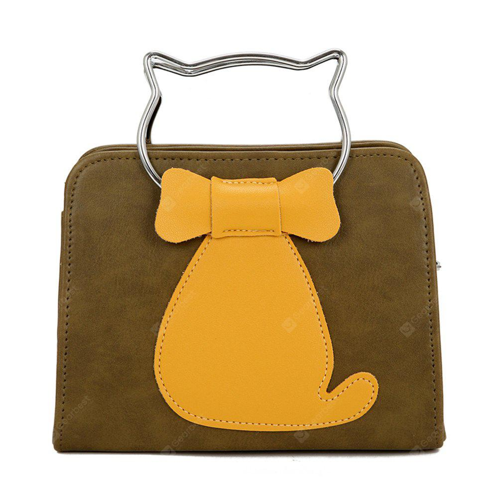 Buy 2017 New Female Bag Color Cat Small Package Korean Fashion Personality All-Match Single Shoulder Handbag IVY