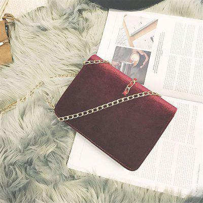 2017 Female Small Velvet Chain Bag Package Ulzzang Messenger Shoulder Bag Handbag