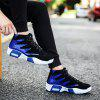 New Men'S Winter and Autumn and High Sports Shoes - BLUE