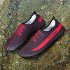 New Lovers Wading Swimming Shoes - BLACK AND RED