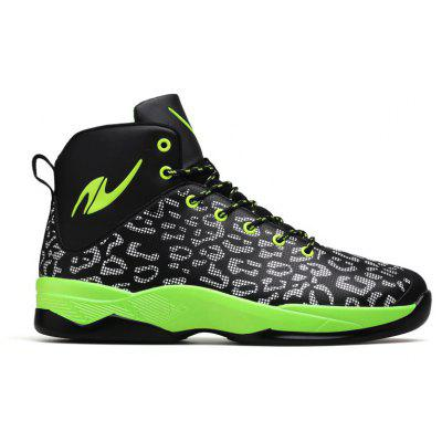 New Men'S Leisure High Sports Basketball Shoes