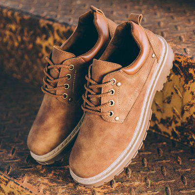 New MenS Outdoor Retro Leisure SneakersCasual Shoes<br>New MenS Outdoor Retro Leisure Sneakers<br><br>Available Size: 39-44<br>Closure Type: Lace-Up<br>Embellishment: None<br>Gender: For Men<br>Outsole Material: Rubber<br>Package Contents: 1 x shoes(pair)<br>Pattern Type: Solid<br>Season: Winter, Spring/Fall<br>Toe Shape: Round Toe<br>Toe Style: Closed Toe<br>Upper Material: Leather<br>Weight: 1.5840kg