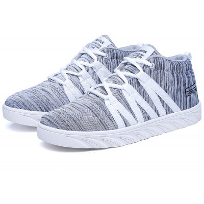 New Couple Sports Casual High Skate ShoesWomens Casual Shoes<br>New Couple Sports Casual High Skate Shoes<br><br>Available Size: 35-44<br>Closure Type: Lace-Up<br>Embellishment: None<br>Gender: For Women<br>Outsole Material: Rubber<br>Package Contents: 1 x shoes(pair)<br>Pattern Type: Geometric<br>Season: Winter, Spring/Fall<br>Toe Shape: Round Toe<br>Toe Style: Closed Toe<br>Upper Material: Cotton Fabric<br>Weight: 1.0980kg