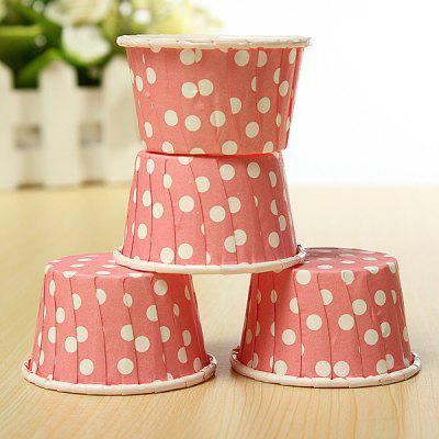 20Pcs Colorfu Paper Cake Cup Liners Baking Cupcake Cases Muffin Cake Colorful Wave Point