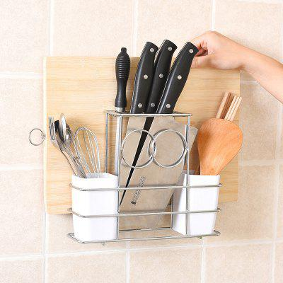 Multi-functional Stainless Steel Knife Kitchen Storage Rack