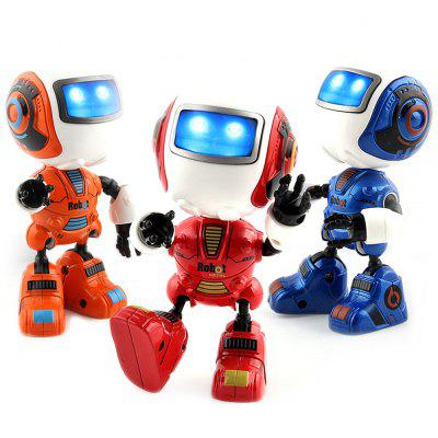 New Intelligent Mini Alloy Robot with Induction Feel is Muti_function the Light Music