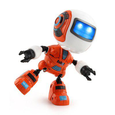 Intelligent Mini Alloy Robot Head Sensing Touch Light MusicRC Robot<br>Intelligent Mini Alloy Robot Head Sensing Touch Light Music<br><br>Features: Model, Musical, Creative Toy, DIY Toy<br>Materials: ABS, Alloy<br>Package Contents: 1 x Robot Toy<br>Package size: 11.00 x 5.50 x 15.50 cm / 4.33 x 2.17 x 6.1 inches<br>Package weight: 0.1860 kg<br>Series: Entertainment,Fantasy<br>Theme: Music,Sport