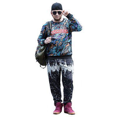 Tide Brand Large Size Men Plus Fat Plus Fertilizer Fat Winter MenS Sweatshirt PCW70067CPlus Size Outerwear<br>Tide Brand Large Size Men Plus Fat Plus Fertilizer Fat Winter MenS Sweatshirt PCW70067C<br><br>Clothes Type: Others<br>Collar: Round Collar<br>Crafts: Printing<br>Material: Polyester, Spandex<br>Occasion: Daily Use<br>Package Contents: 1 x Sweatshirt<br>Season: Fall<br>Shirt Length: Regular<br>Sleeve Length: Long Sleeves<br>Style: Fashion<br>Weight: 0.5000kg