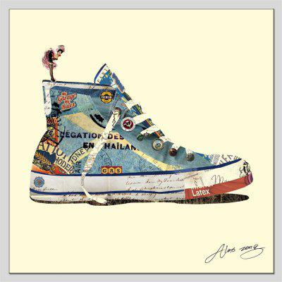 Hua Tuo Shoes Oil Painting Dimensioni 70 x 70 CM OSR - 1170800