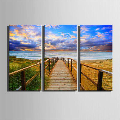 Special Design Frameless Paintings The Wooden Bridge Print 3PCSPrints<br>Special Design Frameless Paintings The Wooden Bridge Print 3PCS<br><br>Craft: Print<br>Form: Three Panels<br>Material: Canvas<br>Package Contents: 3 x Print<br>Package size (L x W x H): 52.00 x 38.00 x 5.00 cm / 20.47 x 14.96 x 1.97 inches<br>Package weight: 1.5000 kg<br>Painting: Include Inner Frame<br>Product size (L x W x H): 50.00 x 35.00 x 1.50 cm / 19.69 x 13.78 x 0.59 inches<br>Product weight: 1.4000 kg<br>Shape: Vertical Panoramic<br>Style: Vintage, Fashion, Active, Formal, Casual, Novelty<br>Subjects: Fashion<br>Suitable Space: Indoor,Outdoor,Cafes,Kids Room,Kids Room,Study Room / Office