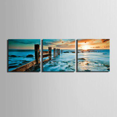 Special Design Frameless Paintings Blue Ocean Print 3PCSPrints<br>Special Design Frameless Paintings Blue Ocean Print 3PCS<br><br>Craft: Print<br>Form: Three Panels<br>Material: Canvas<br>Package Contents: 3 x Print<br>Package size (L x W x H): 42.00 x 43.00 x 5.00 cm / 16.54 x 16.93 x 1.97 inches<br>Package weight: 1.4000 kg<br>Painting: Include Inner Frame<br>Product size (L x W x H): 40.00 x 40.00 x 1.50 cm / 15.75 x 15.75 x 0.59 inches<br>Product weight: 1.3000 kg<br>Shape: Square<br>Style: Vintage, Fashion, Active, Formal, Casual, Novelty<br>Subjects: Fashion<br>Suitable Space: Indoor,Outdoor,Cafes,Kids Room,Kids Room,Study Room / Office
