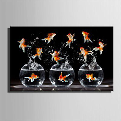 Special Design Frame Paintings Goldfish PrintPrints<br>Special Design Frame Paintings Goldfish Print<br><br>Craft: Print<br>Form: One Panel<br>Material: Canvas<br>Package Contents: 1 x Print<br>Package size (L x W x H): 52.00 x 73.00 x 2.00 cm / 20.47 x 28.74 x 0.79 inches<br>Package weight: 0.8000 kg<br>Painting: Include Inner Frame<br>Product size (L x W x H): 50.00 x 70.00 x 1.50 cm / 19.69 x 27.56 x 0.59 inches<br>Product weight: 0.7000 kg<br>Shape: Horizontal<br>Style: Vintage, Fashion, Active, Formal, Casual, Novelty<br>Subjects: Fashion<br>Suitable Space: Indoor,Outdoor,Cafes,Kids Room,Kids Room,Study Room / Office