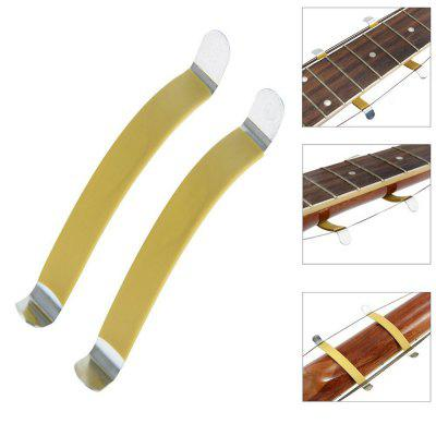 Rubber Coated Metal String Spreaders Guitar Luthier Tool 2PcsGuitar Parts<br>Rubber Coated Metal String Spreaders Guitar Luthier Tool 2Pcs<br><br>Materials: Metal, Rubber<br>Package Contents: 1 x String Spreader<br>Package size: 12.00 x 7.00 x 3.00 cm / 4.72 x 2.76 x 1.18 inches<br>Package weight: 0.1300 kg<br>Product size: 10.00 x 5.00 x 2.00 cm / 3.94 x 1.97 x 0.79 inches<br>Suitable for: Acoustic Guitar, Folk Guitar<br>Type: Other