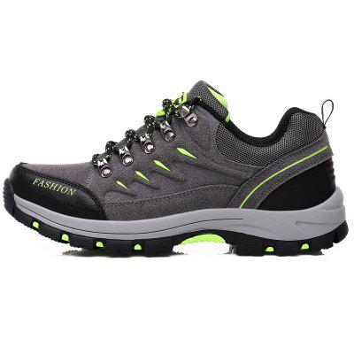 Outdoor Mountaineering Cross-country Travel ShoesAthletic Shoes<br>Outdoor Mountaineering Cross-country Travel Shoes<br><br>Available Size: 35,36,37,38,39,40,41,42,43,44<br>Closure Type: Elastic band<br>Feature: Durable, Shock Absorption, Crashworthy, Anti-slip, Waterproof, Height Increasing, Sweat Absorbing<br>Gender: Unisex<br>Outsole Material: Rubber<br>Package Contents: 1 x Shoes?pair?<br>Package Size ( L x W x H ): 28.00 x 20.00 x 10.00 cm / 11.02 x 7.87 x 3.94 inches<br>Type: Hiking Shoes<br>Upper Material: PU<br>Weight: 1.1200kg