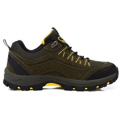 Outdoor Hiking Hiking Shoes with Outdoor Shock AbsorptionAthletic Shoes<br>Outdoor Hiking Hiking Shoes with Outdoor Shock Absorption<br><br>Available Size: 35,36,37,38,39,40,41,42,43,44<br>Closure Type: Elastic band<br>Feature: Anti-slip, Shock Absorption, Durable, Crashworthy, Waterproof, Height Increasing, Breathable, Sweat Absorbing<br>Gender: Unisex<br>Outsole Material: Rubber<br>Package Contents: 1 x Sheos?pair?<br>Package Size ( L x W x H ): 28.00 x 20.00 x 10.00 cm / 11.02 x 7.87 x 3.94 inches<br>Type: Hiking Shoes<br>Upper Material: PU<br>Weight: 1.1200kg