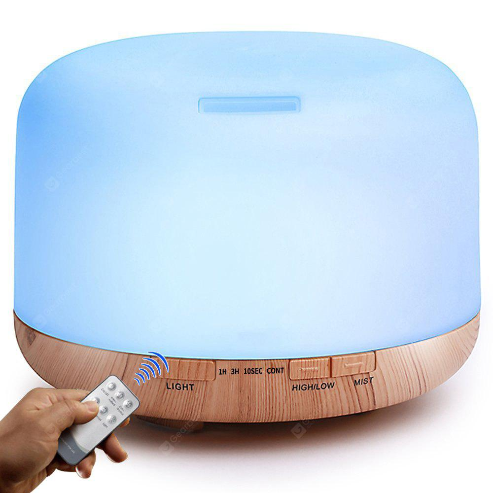 GDAS 02390YK Remote Control Essential Oil Diffuser Aroma Cool Mist Humidifier LIGHT BROWN