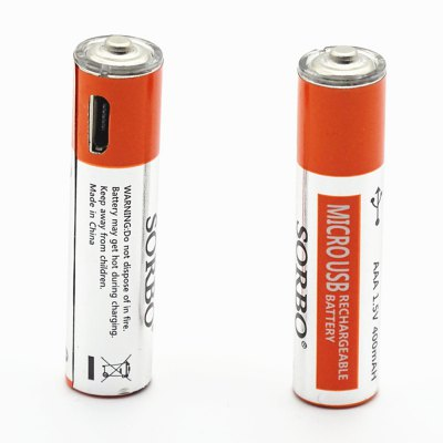 USB/Micro USB Rechargeable Battery AA / AAA